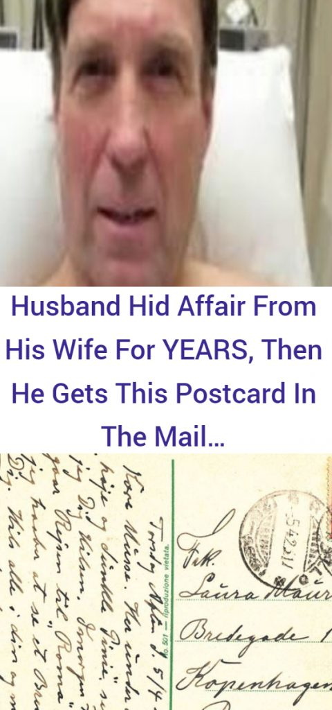 Husband Hid Affair From His Wife For YEARS, Then He Gets This Postcard In The Mail…