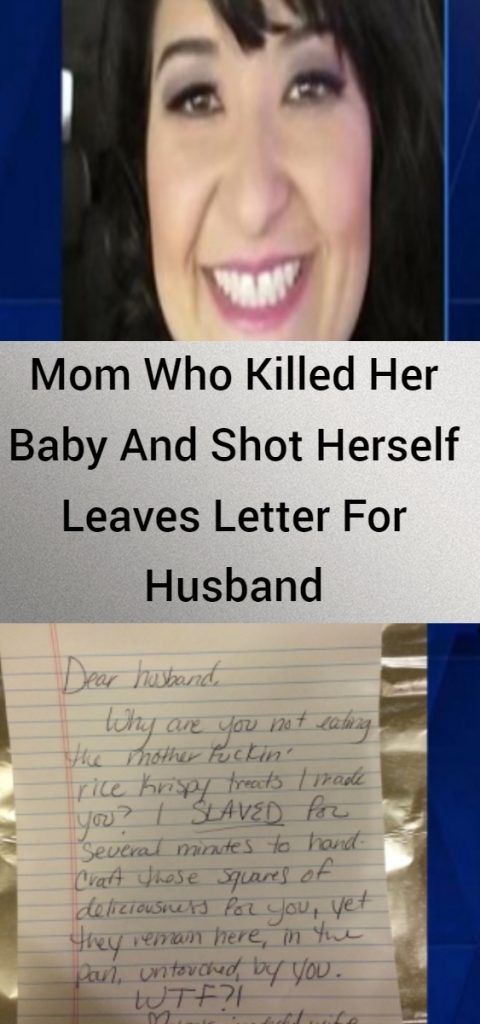 Mom Who Killed Her Baby And Shot Herself Leaves Letter For Husband